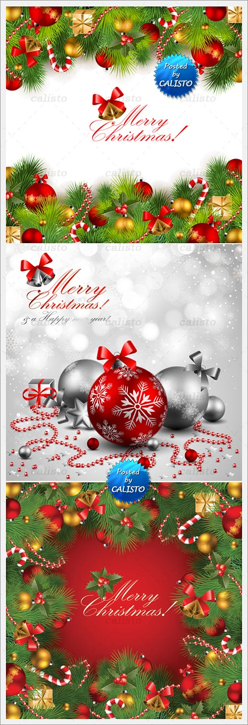 Christmas Frames & Backgrounds