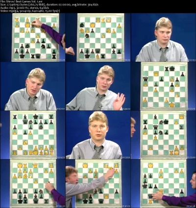 Chess Grandmaster - Best Games Collection Alexei Shirov 5DVD
