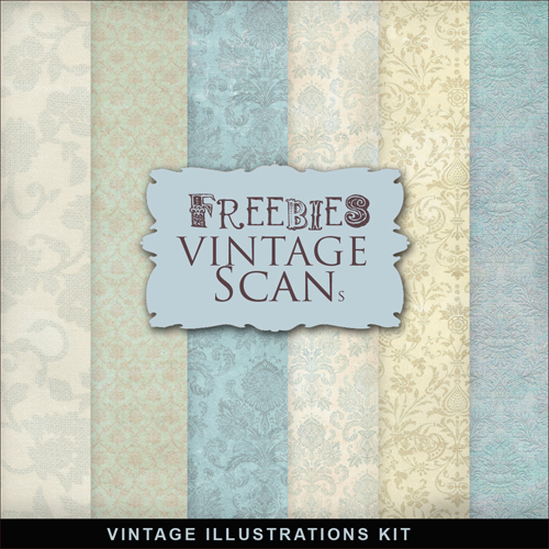 Textures - Old Vintage Backgrounds #57