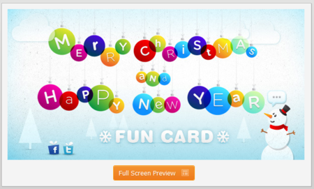 ActiveDen - Winter Holidays Fun Greeting Card