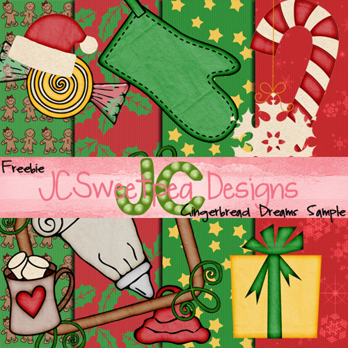 Scrap-set - Gingerbread Dreams