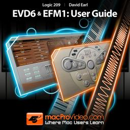 Logic 209 EVD6 and EFM1: User Guide SYNTHiC3TE