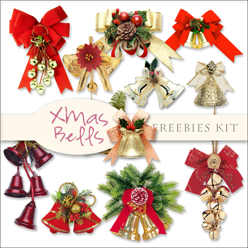 Scrap-kit - Cristmas And New Year 2012 Bells Cliparts Images