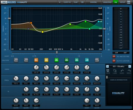 DMG Audio EQuality VST VST3 RTAS v1.16 x86/x64