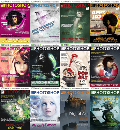 .PSD Photoshop France 2011 Full Year Collection