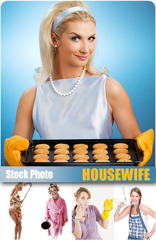 UHQ Stock Photo - Housewife