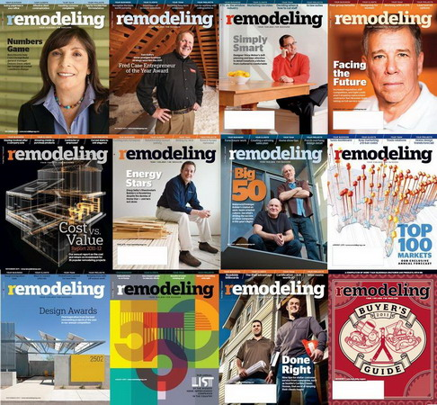 Remodeling Magazine 2011 Full Collection