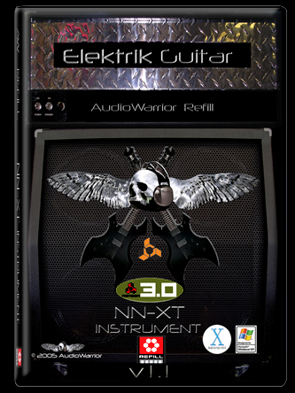 AudioWarrior Elektrik Lead Guitar REFiLL-DYNAMiCS