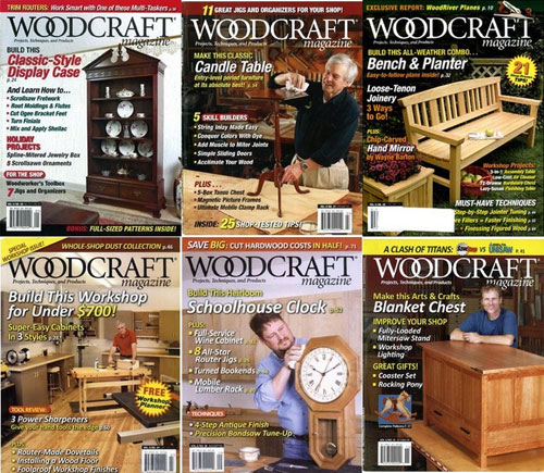 Woodcraft Magazine №26-31 2009 (Full Year Collection)