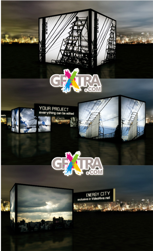 Energy City - Project for After Effects (VideoHive)