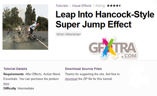AE Tuts+ Leap Into Hancock-Style Super Jump Effect