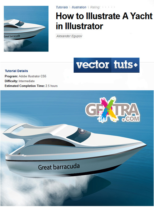Vector Tuts+ How to Illustrate A Yacht in Illustrator