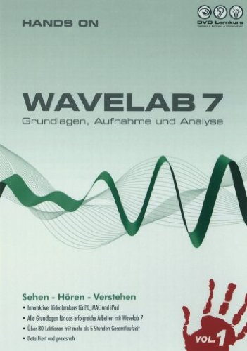 DVD Lernkurs Hands On Wavelab 7 Vol 1 German-RESTORE