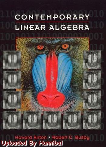 Contemporary Linear Algebra Howard Anton