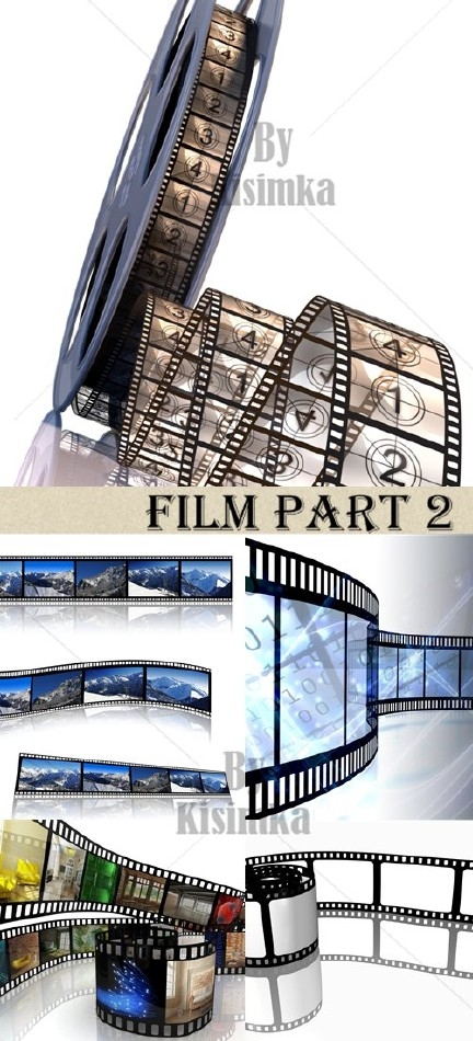 Stock Photo: Film part 2
