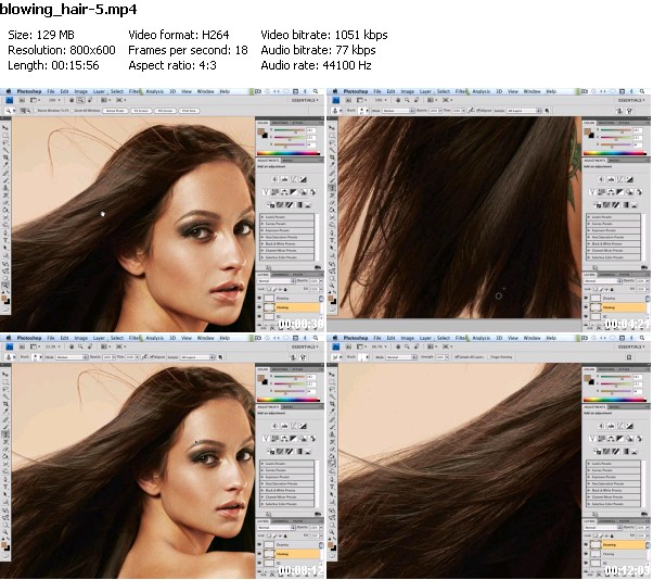 Beauty & Hair Retouching High End Techniques - Series Two Disc 1