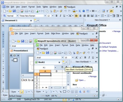 Kingsoft Office Suite 2012 8.1.0.3020 Portable