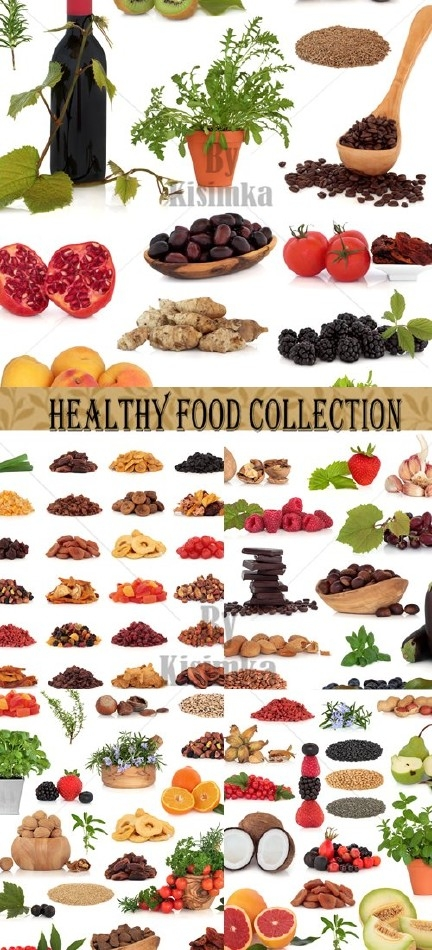 Stock Photo: Healthy Food Collection