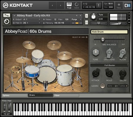 Native Instruments Abbey Road 60s Drummer KONTAKT DVDR-DYNAMiCS
