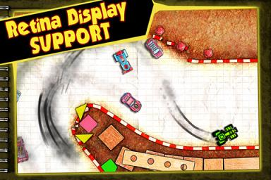 Paper Racer 1.1 iPhone and iPod Touch