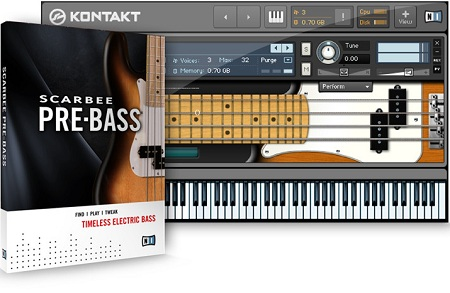 Native Instruments Scarbee Pre-Bass v1.1.0 KONTAKT DVDR