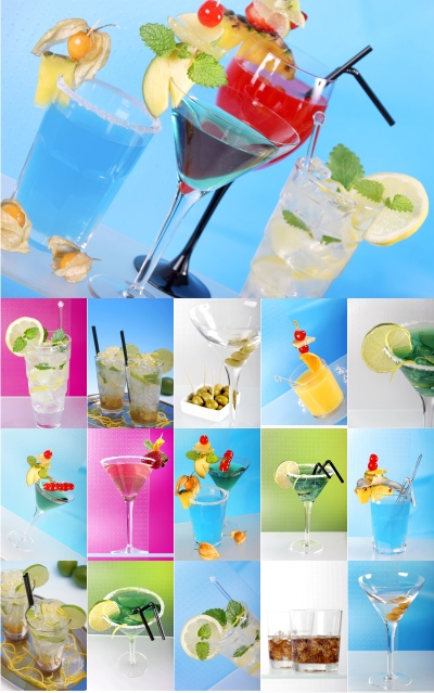 Stock Photos - Cocktails