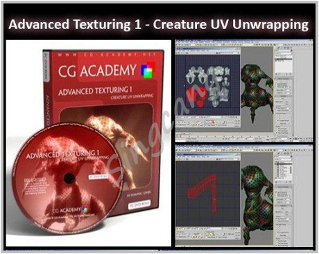 CG ACADEMY - Advanced Texturing 1 - Creature UV Unwrapping