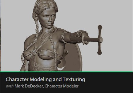 Character Modeling and Texturing with Mark DeDecker Re Uploaded