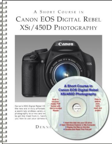 Canon EOS Digital Rebel XSi-450D For Dummies PDF eBook