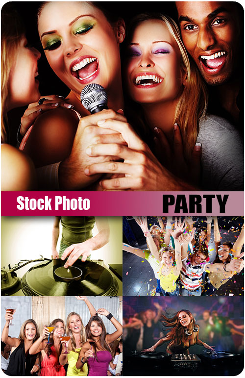 UHQ Stock Photo - Party