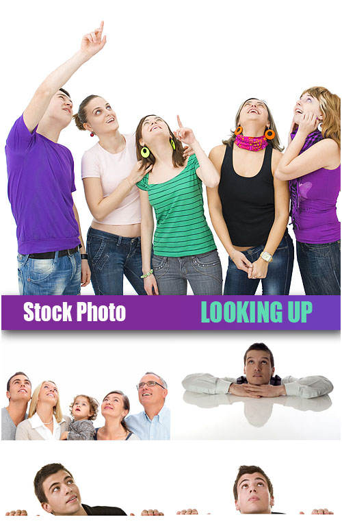 UHQ Stock Photo - Looking Up