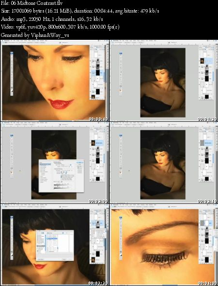 KelbyTraining - Vincent Versace - Retouch a Portrait And Lighting on a Laptop