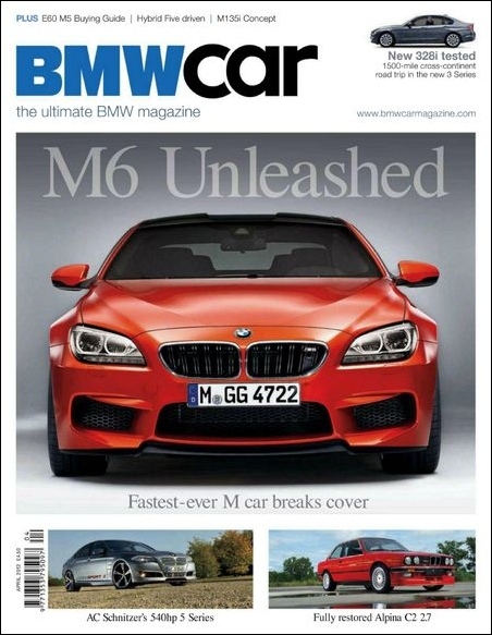 BMW Car UK - April 2012