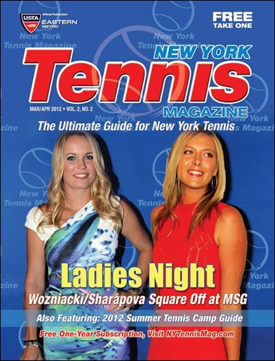 New York Tennis Magazine - March/April 2012