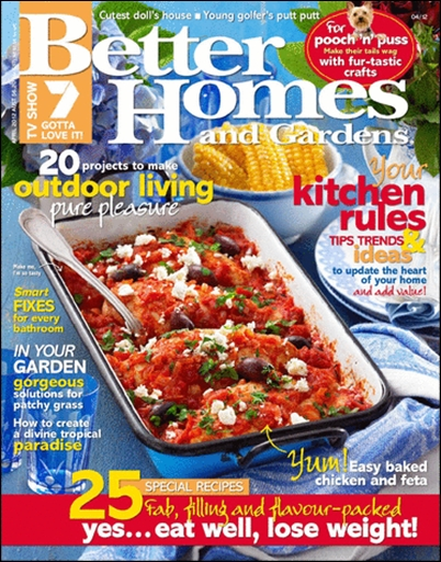 Better Homes And Gardens Australia April 2012 Vector Photoshop Psdafter Effects Tutorials