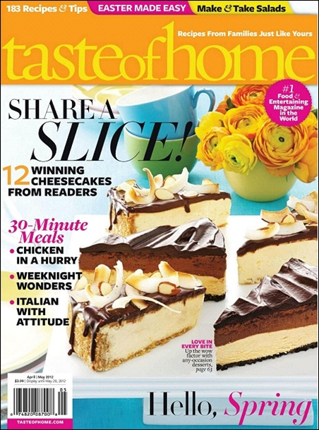 Taste of Home - April/May 2012