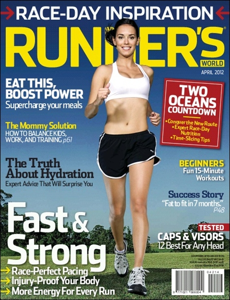 Runner's World April 2012