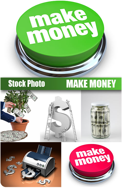 UHQ Stock Photo - Make Money