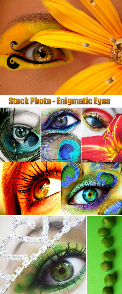 Stock Photo - Enigmatic Eyes