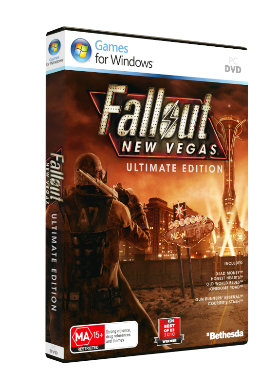 NoCD,Crack для Fallout: New Vegas. Ultimate Edition v1.0 EN/DE/FR/IT/ES та