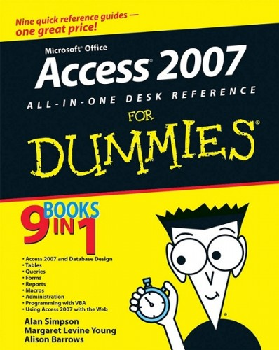 Access 2007 AIO Desk Reference For Dummies