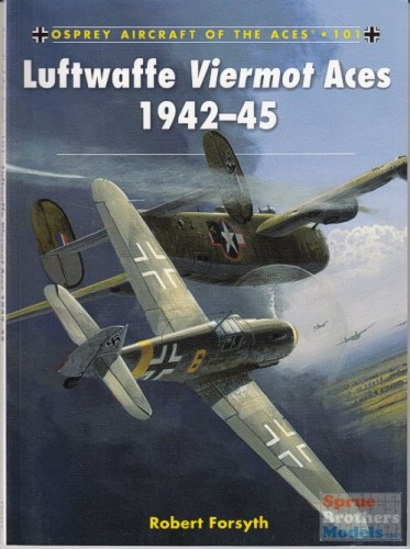 Osprey Aircraft of the Aces 101 Luftwaffe Viermot Aces 1942-45
