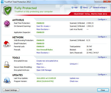 TrustPort Total Protection 2012 12.0.0.4864 Final Multilanguage