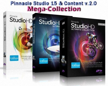 Pinnacle studio 15 content v 2 0 mega collection for Pinnacle studio templates