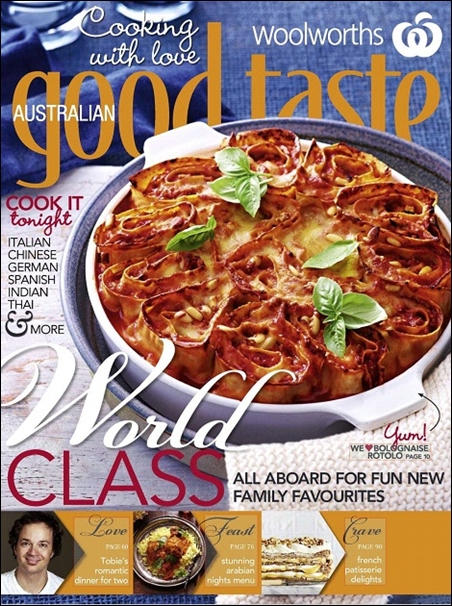 Woolworths Australian Good Taste - May 2012