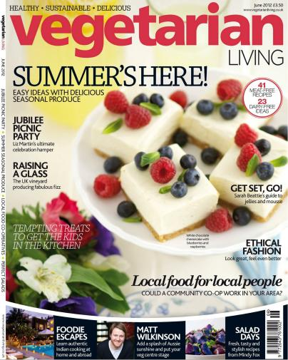 Vegetarian Living UK - June 2012 (HQ PDF)