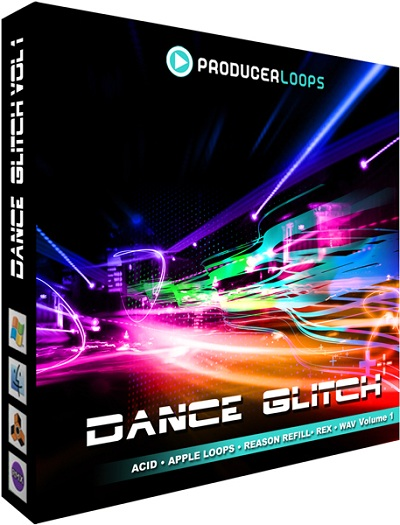 Producer Loops Dance Glitch Vol 1 WAV
