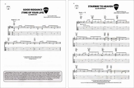 Alfred - Acoustic Rock Riffs - Authentic Guitar Tab Edition