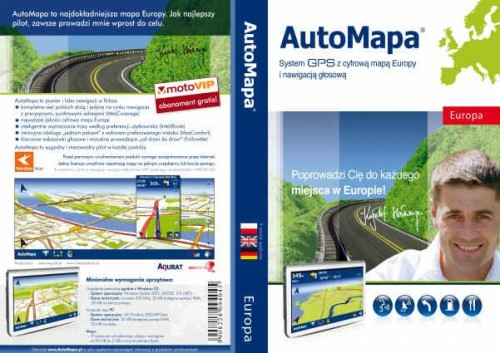 AutoMapa v6.10b 1714 Final Europe 02.2012 MULTILANG