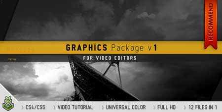 Videohive Graphics Package v1 - After Effects Project